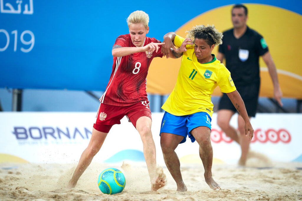 Women's Intercontinental Beach Soccer Cup to take place in Moscow