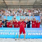 Moldova become Euro Beach Soccer League Division B Regular stage winner!